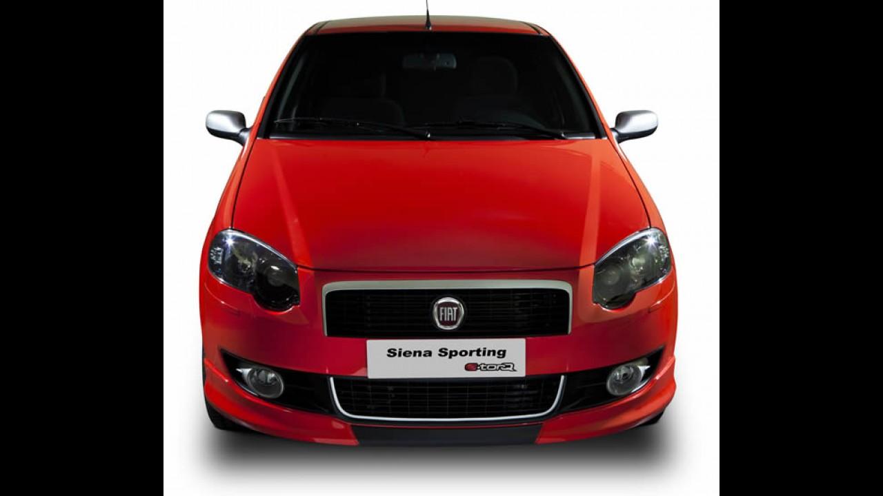Fiat lança oficialmente o Siena Sporting 2011 com preço inicial de R$ 46.610