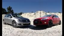 Tira-teima hatches médios: VW Golf 1.4 TSI Highline ou Ford Focus 2.0 Titanium?