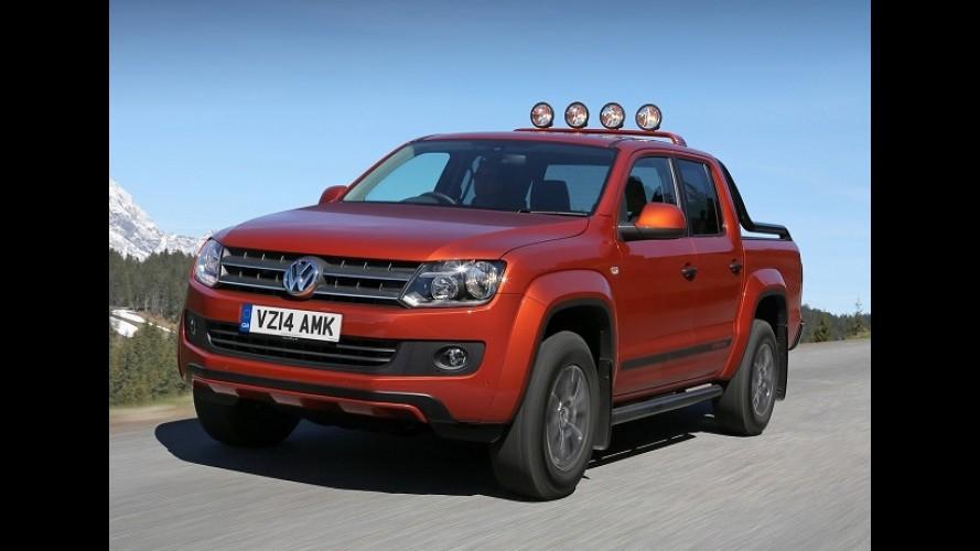 Volkswagen Amarok ganha série especial aventureira Canyon no Reino Unido