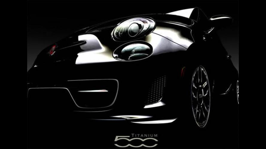 Teaser: Mopar prepara o Fiat 500 Titanium para o SEMA Show