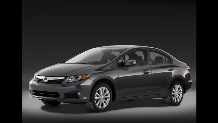 Novo Honda Civic 2012 é apresentado oficialmente