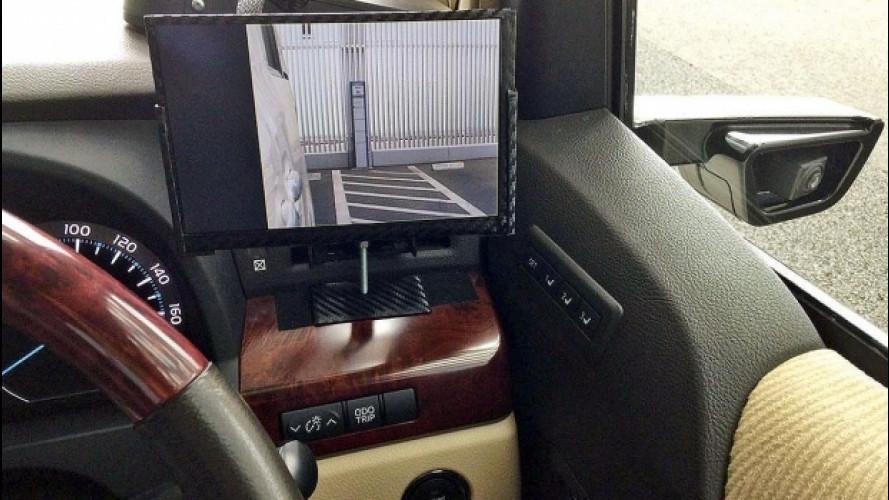 Specchietti laterali, in Giappone via libera a quelli digitali