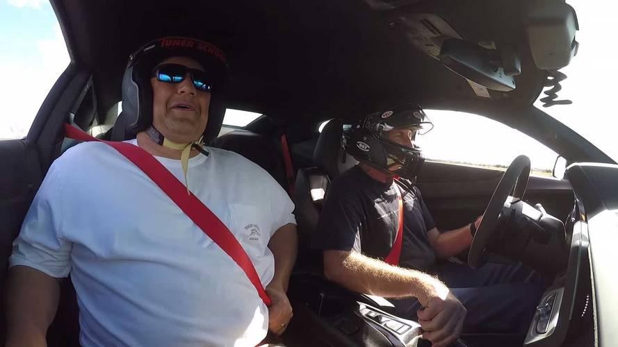 Livraison Hennessey Exorcist Camaro ZL1