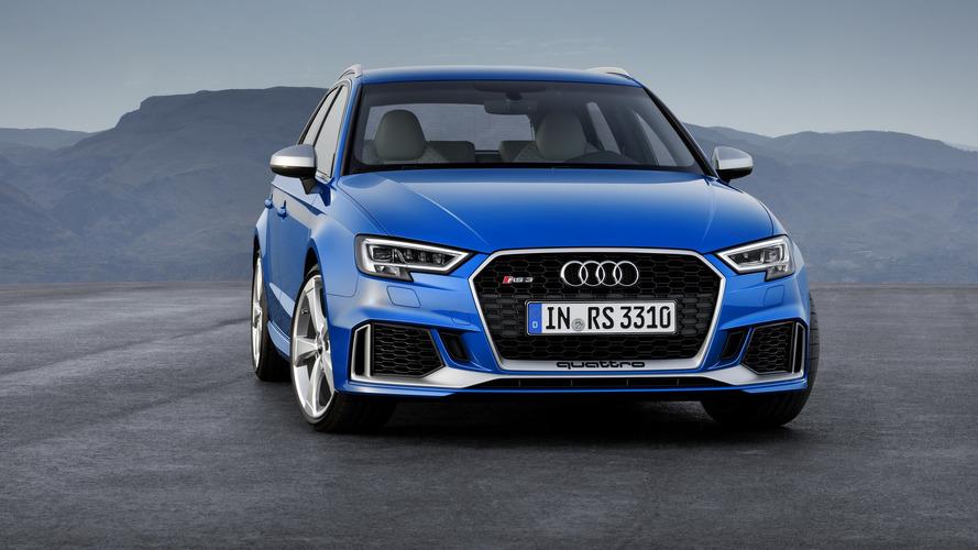 Audi RS3 Sportback 2017 ganha retoque e vai a 400 cv de potência