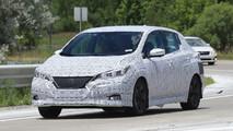 2018 Nissan Leaf spy photos
