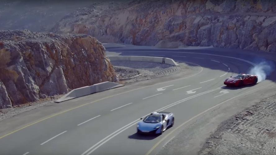 VIDEO - 3 supercars sur l'une des plus belles routes au monde