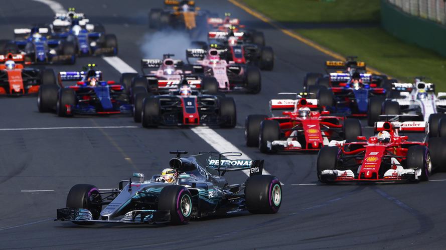 2017 F1 Australian Grand Prix – Race Results