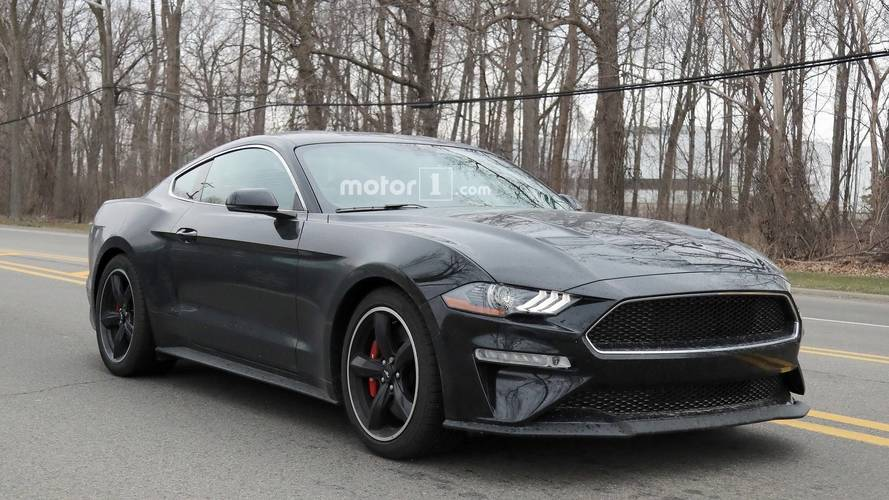 2019 Ford Mustang Bullitt Spy Photos