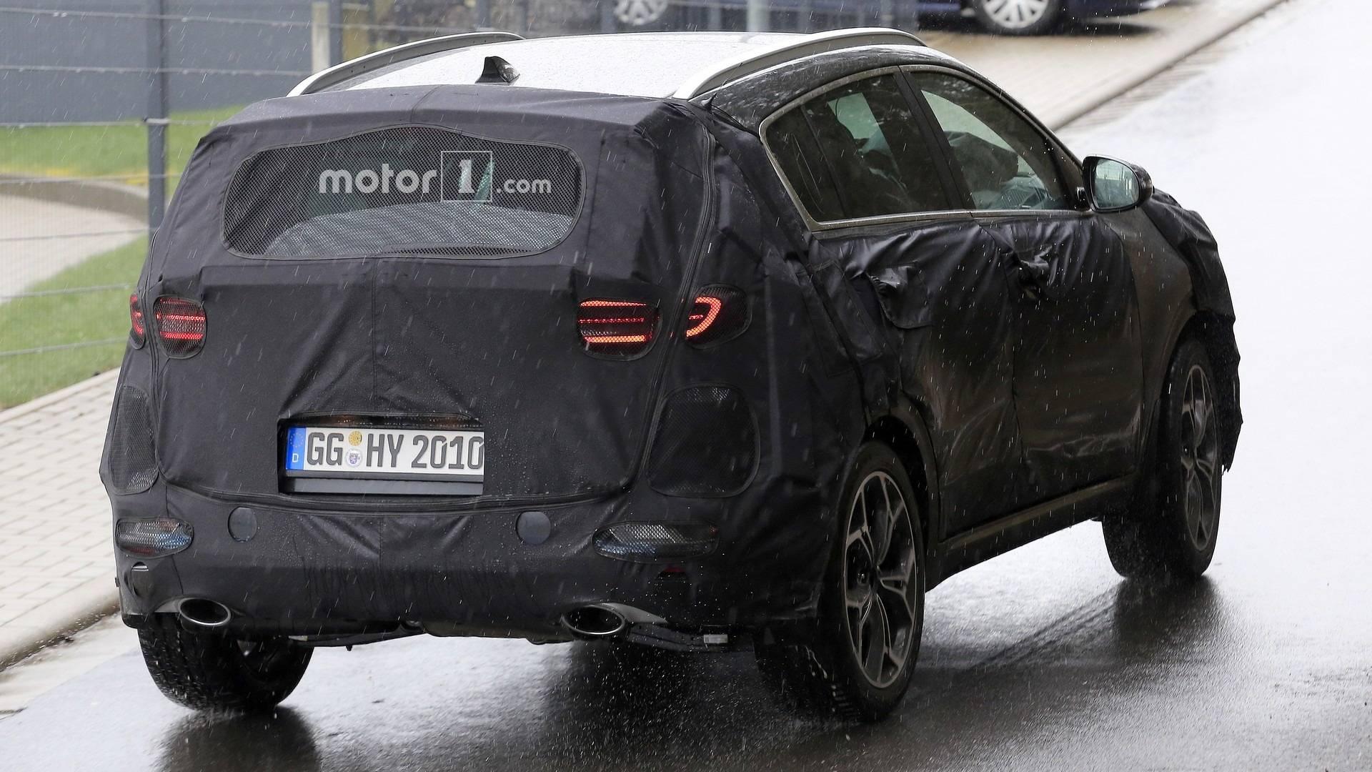 its auto to facelift ready looks track photos on sportage kia spy test the news