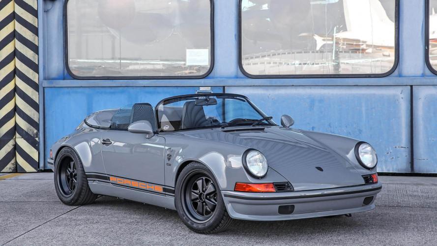 Retro görünümlü Porsche 911 Speedster'e bir göz atın