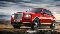 Renders Rolls-Royce Cullinan 2018