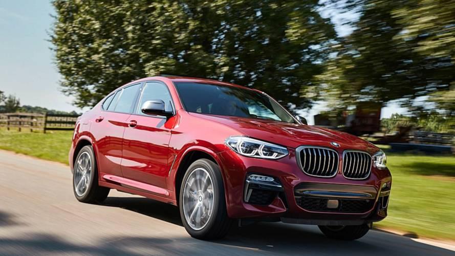 Yeni BMW X4'ün mega galerisi yayınlandı