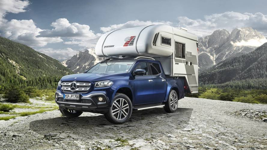 Pick Up This Camper Van Conversion For The Mercedes X-Class