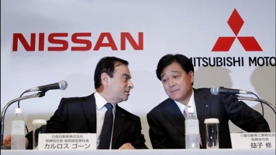 Nissan acquisisce il controllo di Mitsubishi
