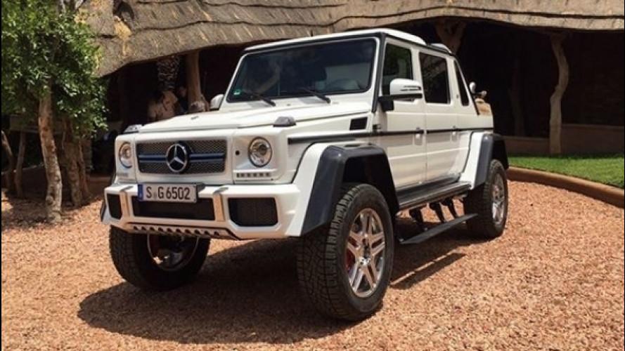 Mercedes-Maybach G 65 4x4² Landaulet, le foto