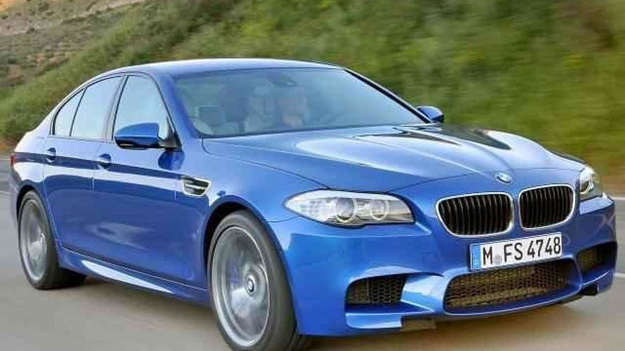 2012 BMW M5 F10 production model photos leaked