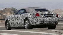Rolls-Royce Dawn spy photo