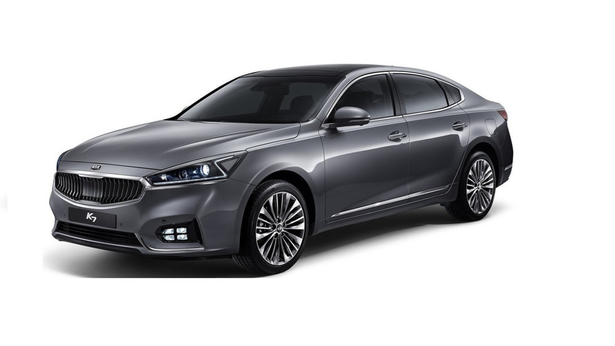 2016 Kia Cadenza first official pics show upscale design
