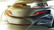 Mercedes ConceptFASCINATION design sketch