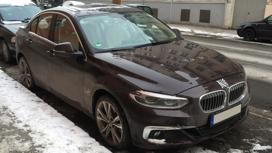 BMW 1 Series Sedan spotted on street in Munich, coming to Europe?