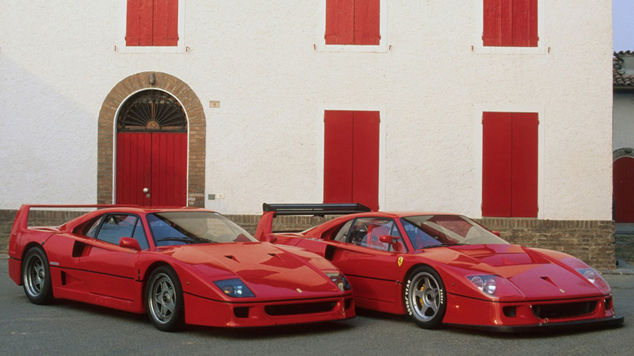 photos d couvrez la ferrari f40 en d tail. Black Bedroom Furniture Sets. Home Design Ideas