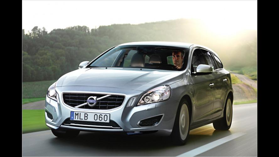 Erster: Volvo V60 Plug-in-Hybrid