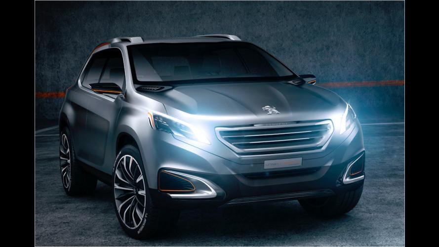 SUV-Studie auf 208-Basis und Benzinhybrid