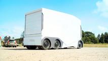 T-pod autonomous truck