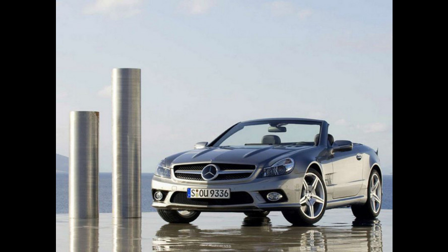 Mercedes SL Restyling: le prime immagini