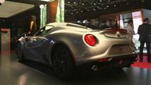 2016 Alfa Romeo 4C Paris Motor Show