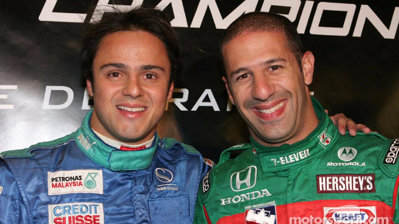 Felipe Massa and Tony Kanaan