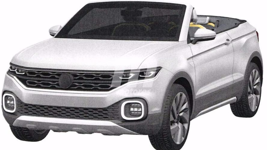 Volkswagen T-Cross Breeze -  Des images du brevet apparaissent sur la toile