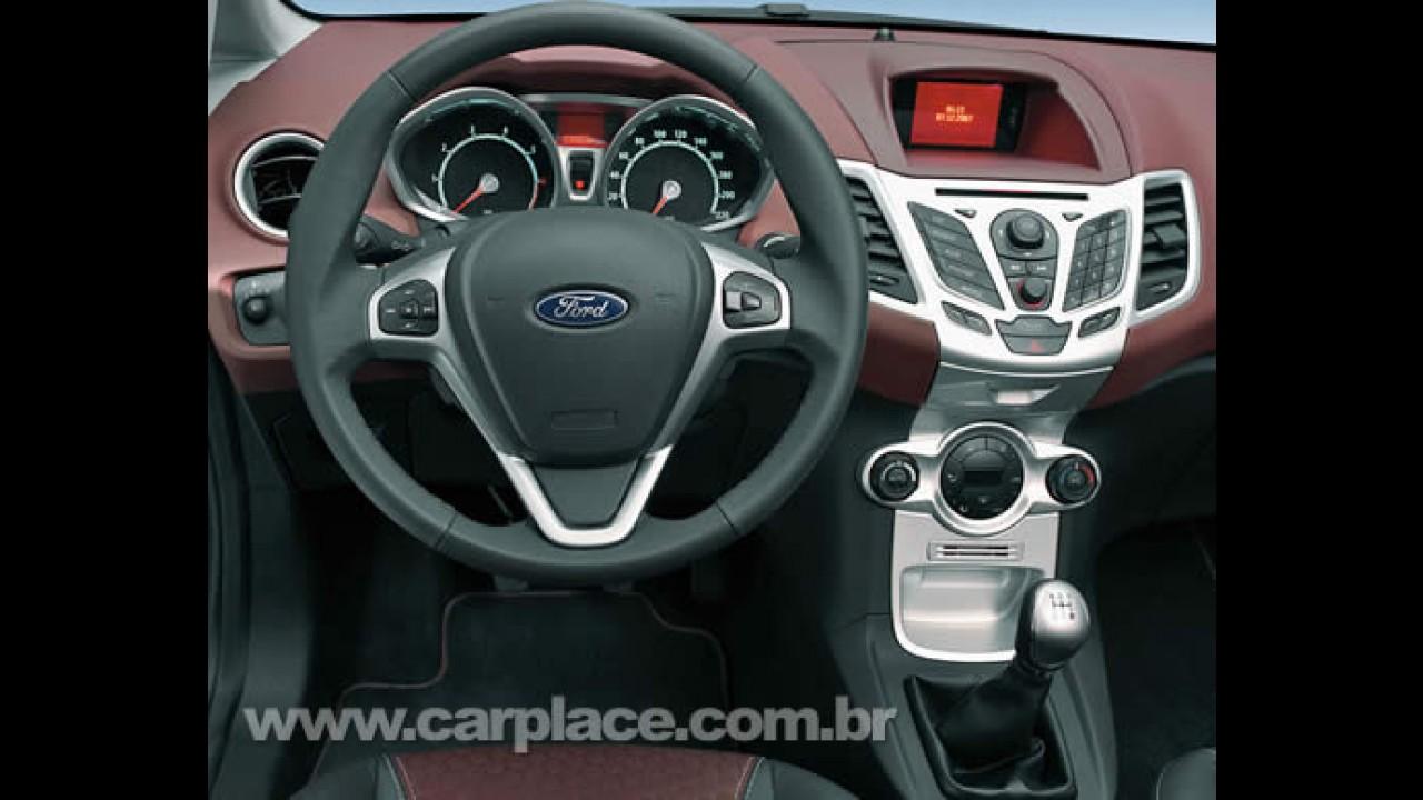 Novo Ford Fiesta 1.6 Zetec S 2009 com 120 cv - Vendas começam em outubro