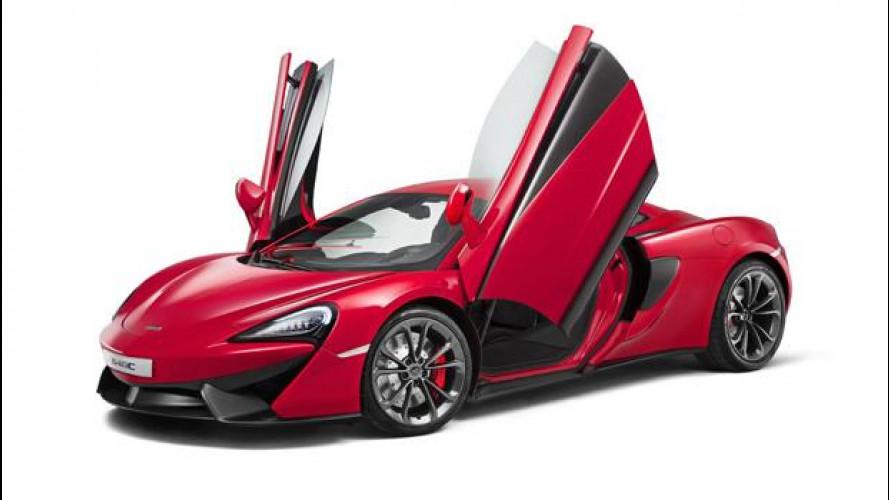 McLaren 540C, la