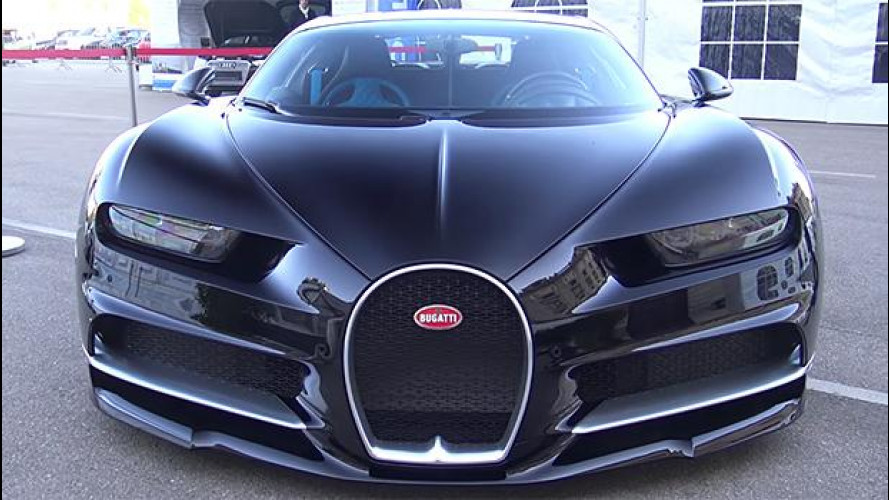 Bugatti Chiron, il suono dei 1.500 CV [VIDEO]