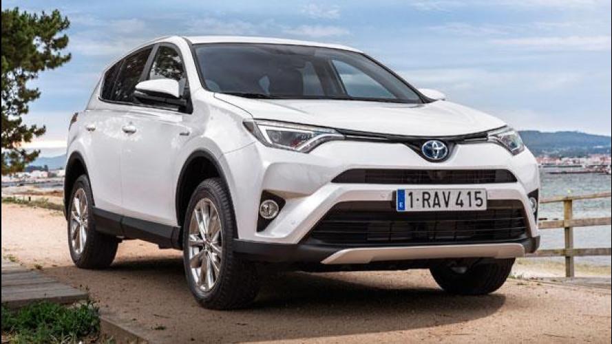 Salone di Francoforte, anche Toyota RAV4 diventa Hybrid