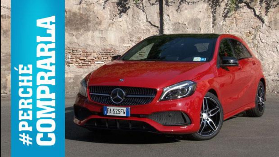 Mercedes Classe A (2015), perché comprarla... e perché no [VIDEO]