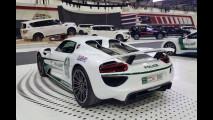 Porsche 918 Spyder per la polizia di Dubai
