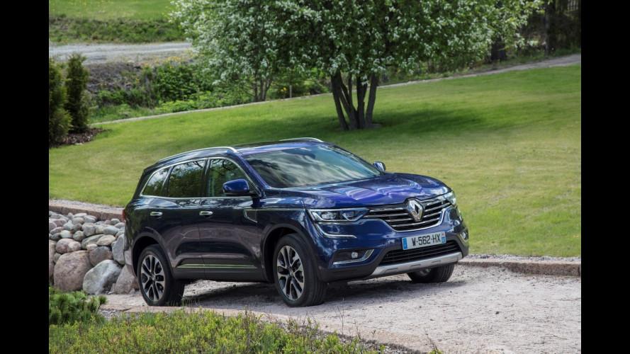 Renault Koleos, la sfida alle concorrenti inizia così