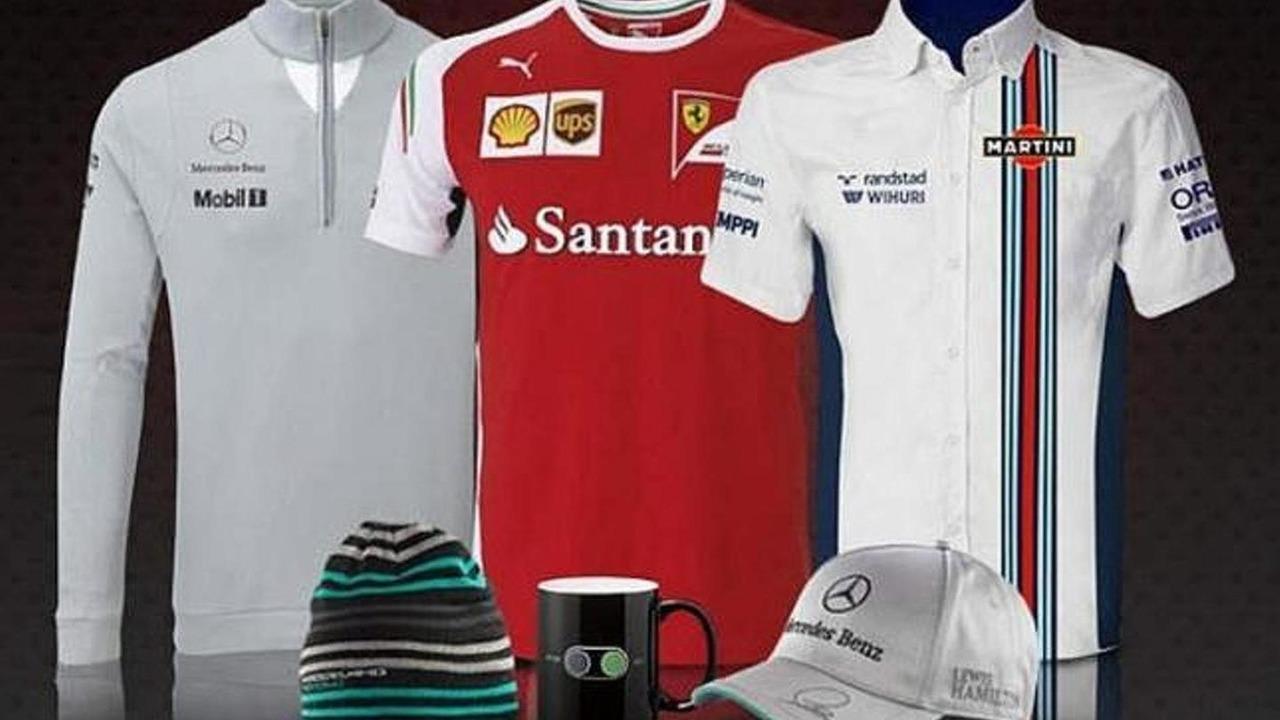 Martini-branded Williams team shirt 2014