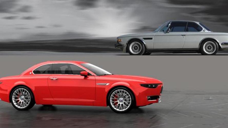 BMW CS Vintage Concept is a modern successor to BMW E9 [video]