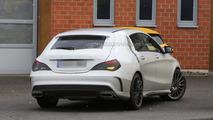 Mercedes CLA 45 AMG Shooting Brake spy photo