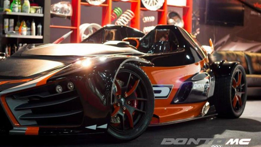 2013 Donto P1 arrives at Buenos Aires Motor Show