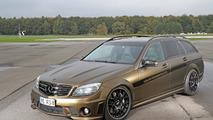 Mercedes C63 AMG Wagon by FolienCenter-NRW & SR-Performance 22.10.2013