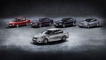Cinq générations de BMW M5