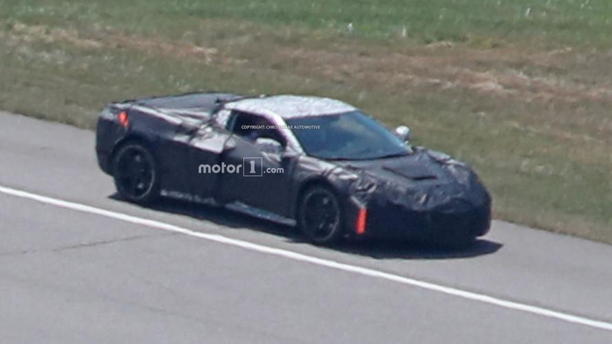 Ortadan motorlu Corvette bir kere daha görüntülendi