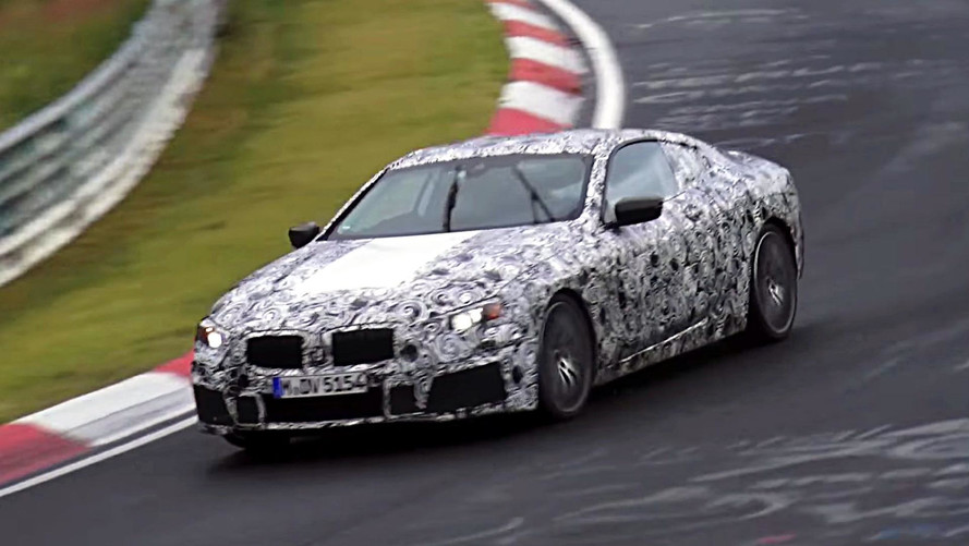 2018 BMW 8 Series Spied At Wet Nürburgring