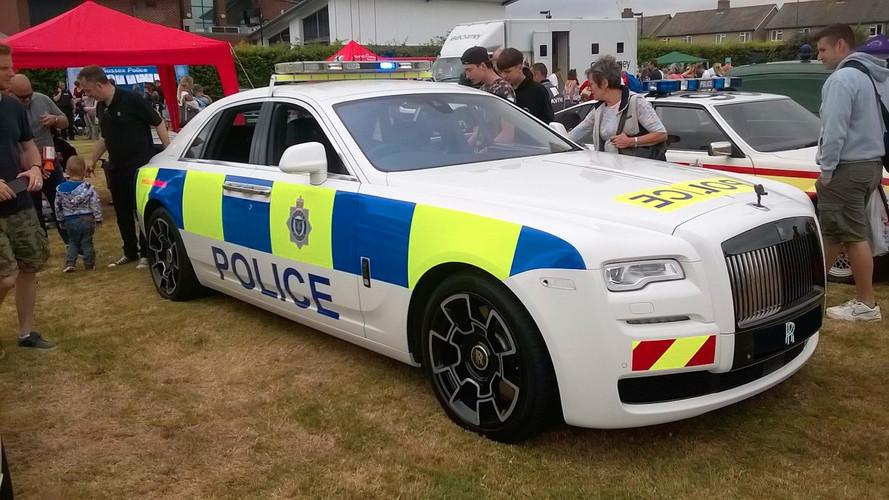Rolls-Royce Ghost polis aracı