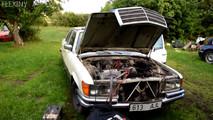 Mercedes W116 Diesel