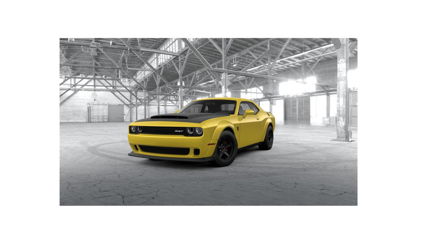 Configurez votre Dodge Challenger SRT Demon
